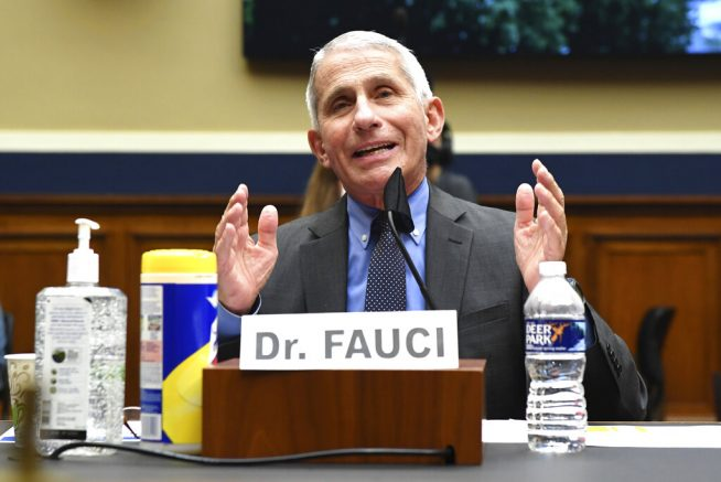 Dr. Fauci warns coronavirus vaccine 'might take some time'