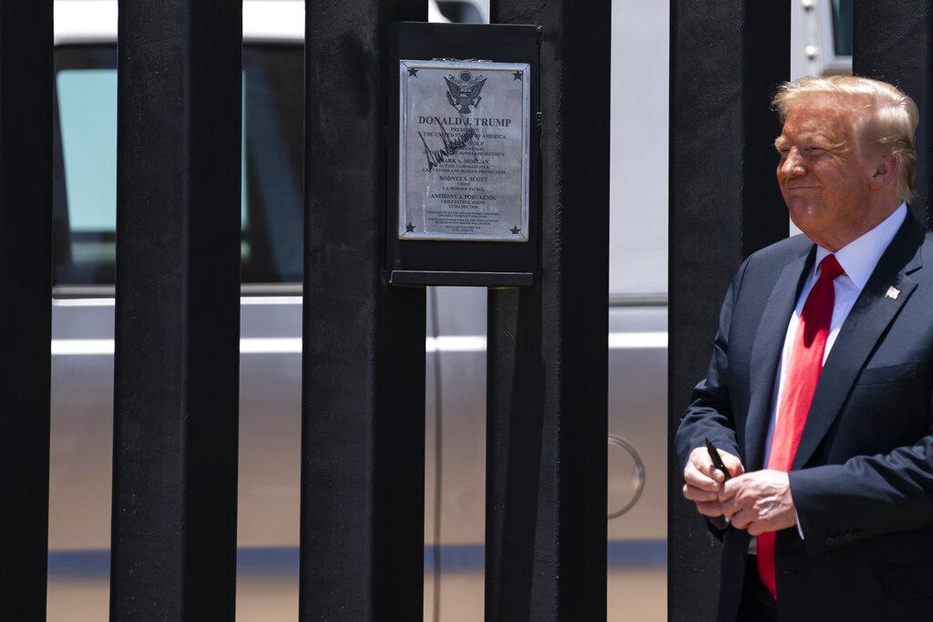 Trump visits Arizona amid increase in coronavirus cases, polling worries