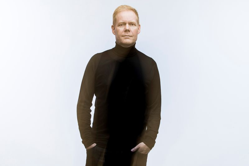 Composer Max Richter poses for a photo in Oxford