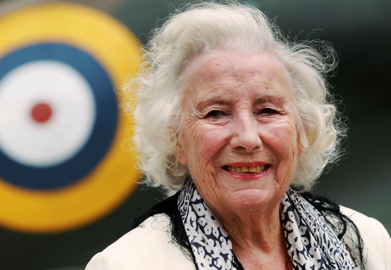 Dame Vera Lynn honoured with Spitfire flypast as hundreds gather for funeral