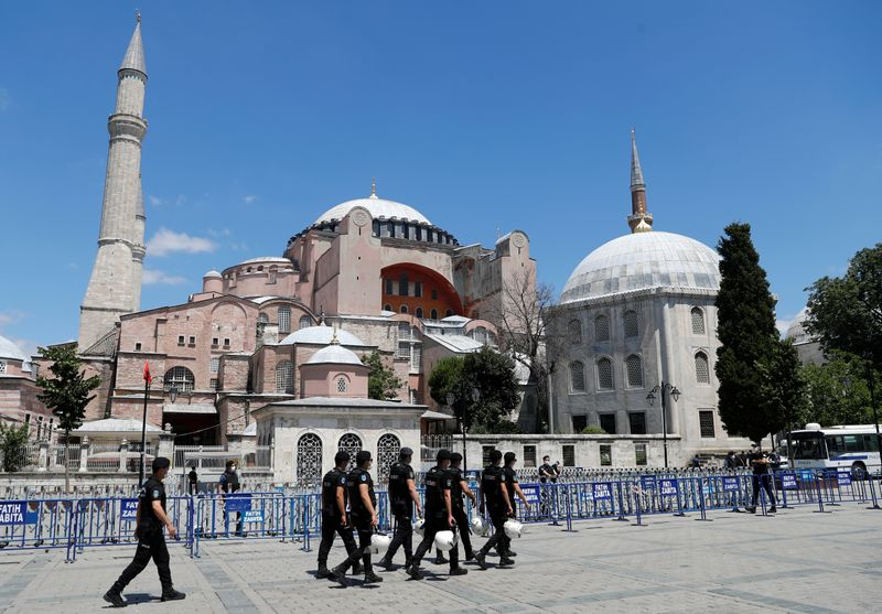 World Council of Churches 'dismayed' at Hagia Sophia shift