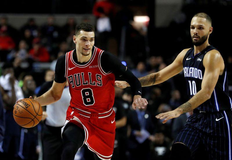 FILE PHOTO: Basketball - NBA Global Games - Orlando Magic v Chicago Bulls