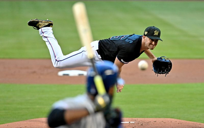 FILE PHOTO: MLB: New York Mets at Miami Marlins