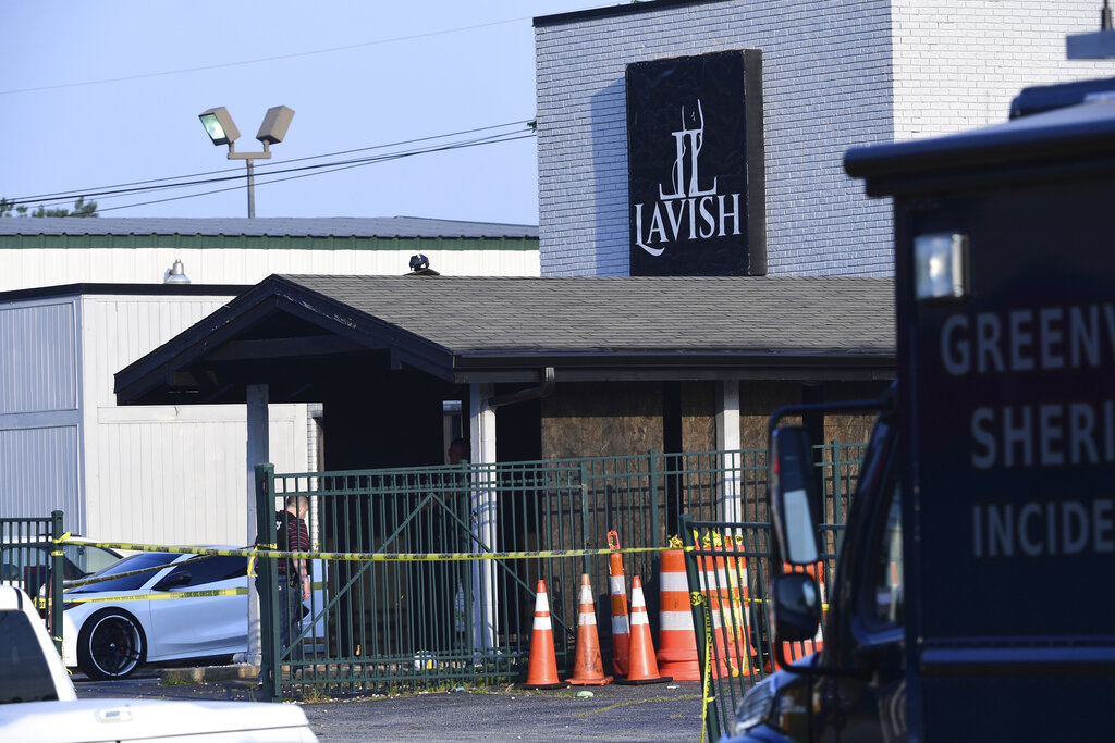 At least 12 wounded in shooting at South Carolina nightclub