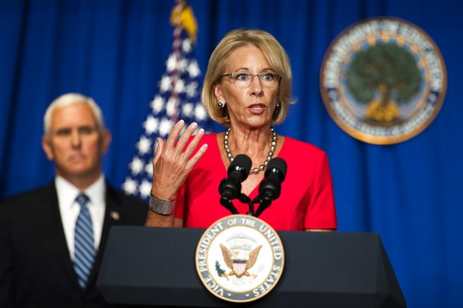 Education Secretary Betsy DeVos rejects part-time reopening for schools amid pandemic