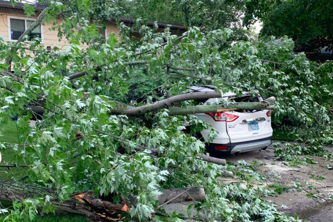 Fatality Reported After Tornado Sweeps Otter Tail County, Minnesota