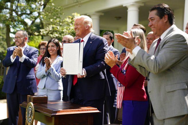 Goya CEO praises Trump at White House, backlash is swift