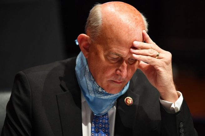 Congressman Who Refused to Wear Mask Tests Positive for COVID, Blames Masks