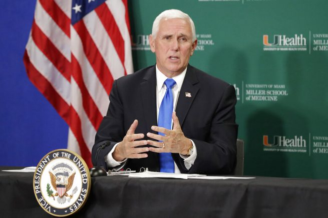 Vice President Pence visits Fla. marking first clinical trial in U.S. for COVID-19 vaccine to reach phase 3