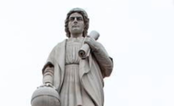Protesters toss Columbus statue into Baltimore's Inner Harbor