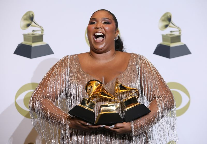FILE PHOTO: 62nd Grammy Awards – Photo Room – Los Angeles, California, U.S., January 26, 2020 - Lizzo