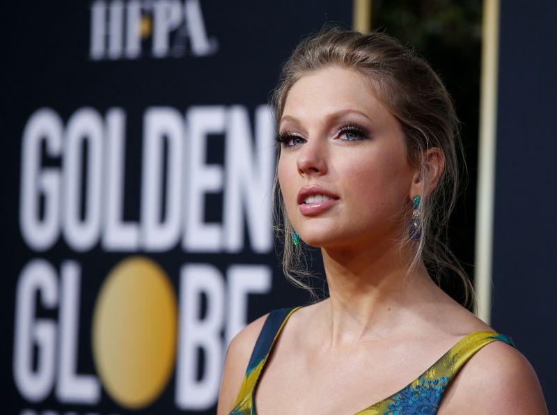 77th Golden Globe Awards - Arrivals - Beverly Hills, California, U.S., January 5, 2020 - Taylor Swift