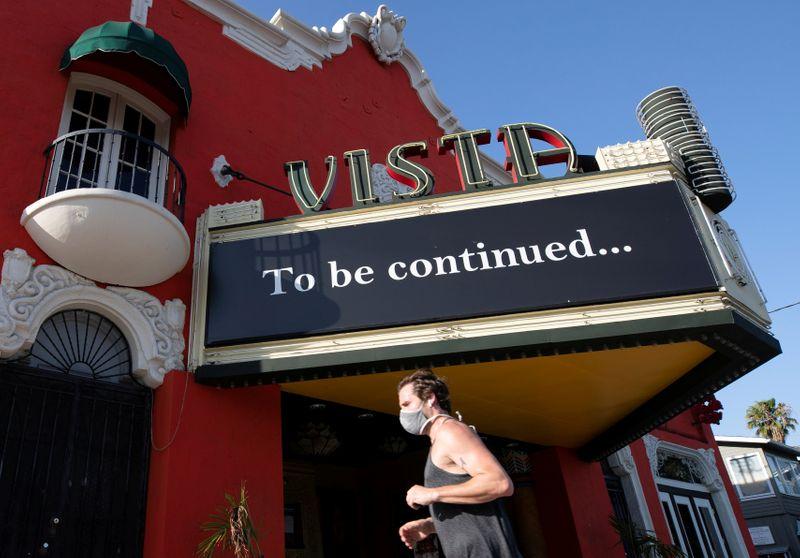 FILE PHOTO: The outbreak of the coronavirus disease (COVID-19) in Los Angeles