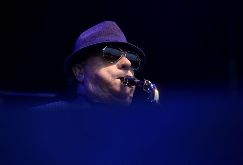 FILE PHOTO: Van Morrison performs at the BBK Music Legends festival in Sondika, near Bilbao