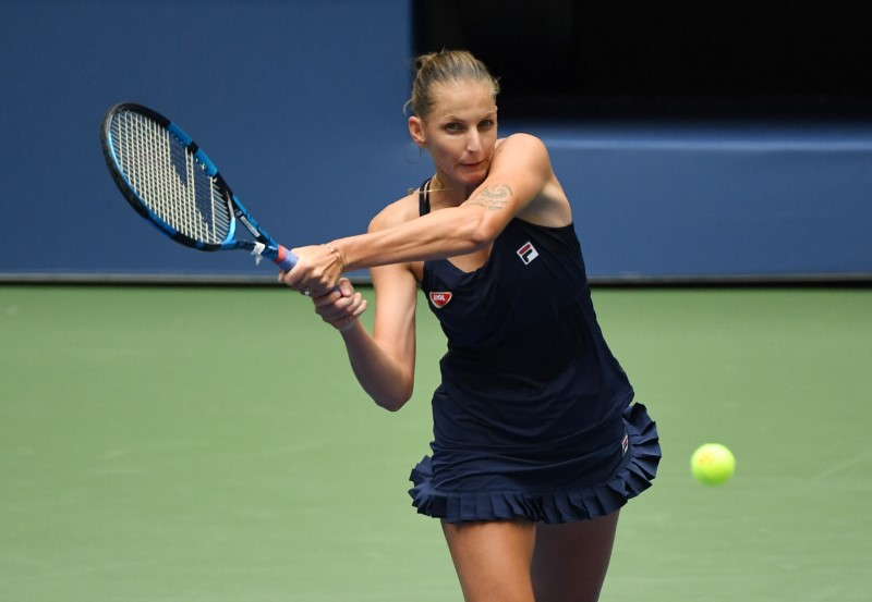 Top seed Pliskova knocked out in 2nd round at US Open
