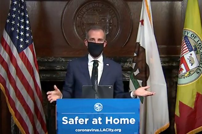LA Mayor Orders Utility Shutoffs at Homes Hosting Illegal House Parties