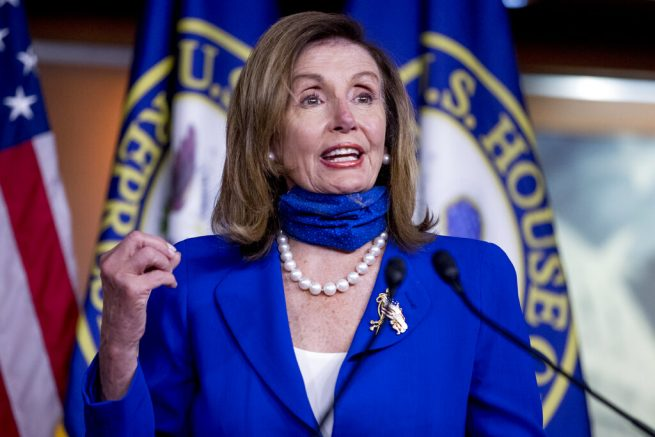 Pelosi says coronavirus aid talks with Mnuchin, Meadows to continue Tuesday