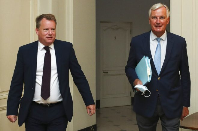 Brexit: EU's Barnier 'disappointed and concerned' after Brexit talks