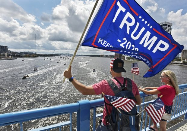Boats participating in a Trump support parade sink in Texas, officials say