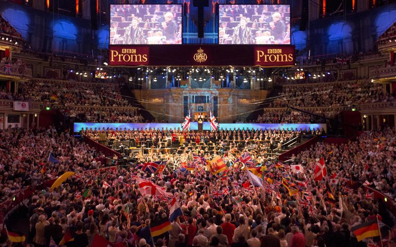 FILE PHOTO: The BBC Symphony Orchestra performs at the last night of the BBC Proms festival of classical music at the Royal Albert Hall in London, Britain