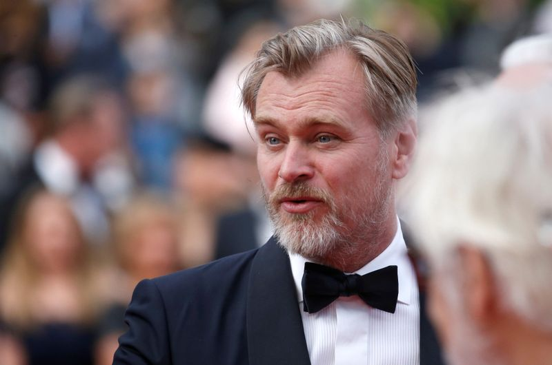 FILE PHOTO: Director Christopher Nolan poses at the 71st Cannes Film Festival,  Cannes, France