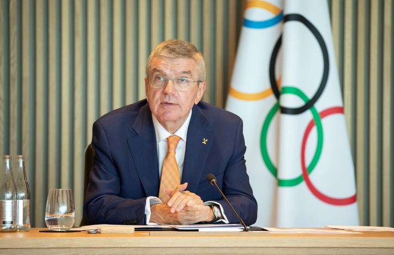 IOC Executive Board Meeting at Olympic House in Lausanne