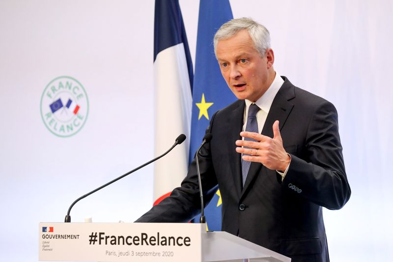French government presents crisis recovery plan for economy