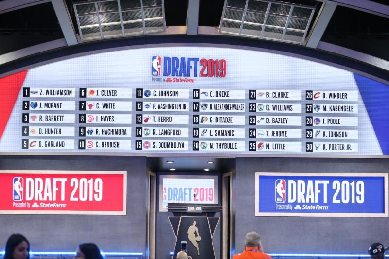 FILE PHOTO:  NBA: NBA Draft