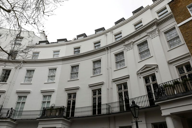 The Knightsbridge house which has been purchased by Polish billionaire Dominika Kulczyk for 57.5 million British pounds, stands in London