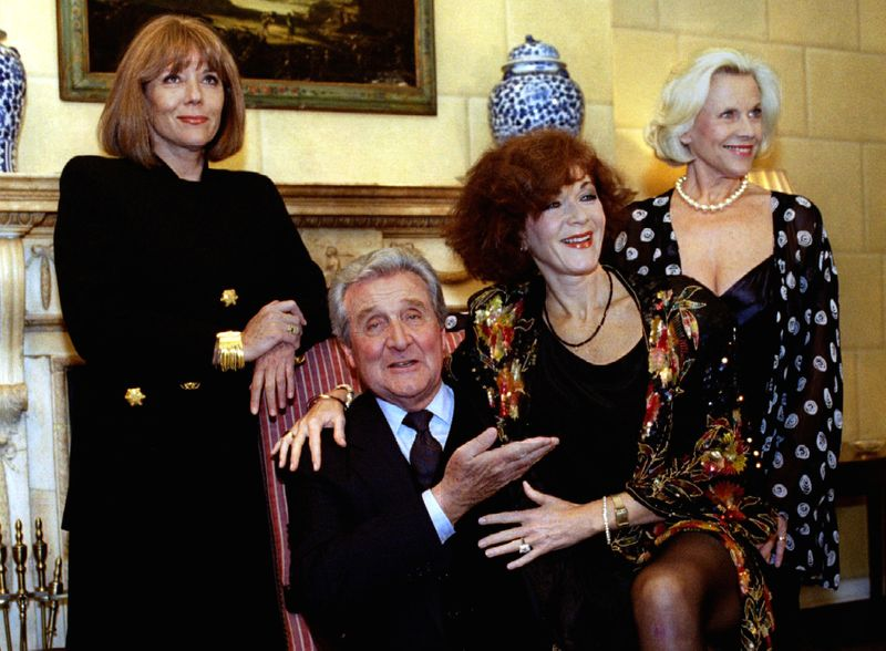 FILE PHOTO: The cast members of one of Britain's most popular TV series in the 1960s