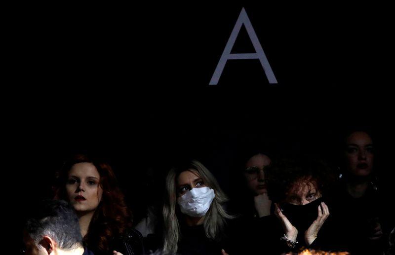 FILE PHOTO: Milan Fashion Week Autumn/Winter 2020