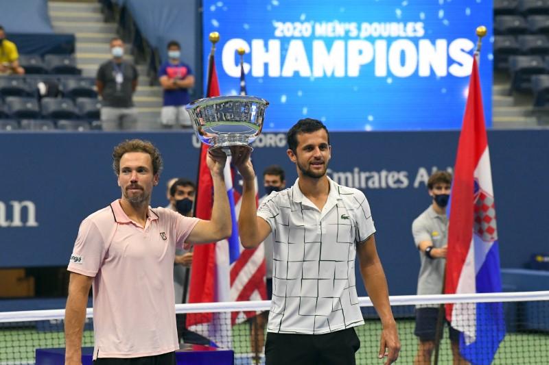Pavic and Soares claim US Open men's doubles crown