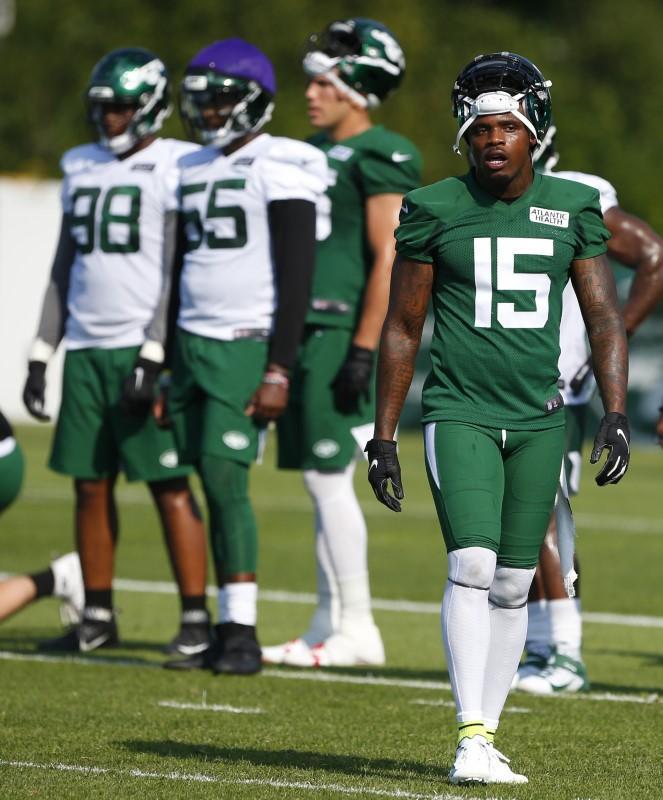 FILE PHOTO:  NFL: New York Jets-Training Camp
