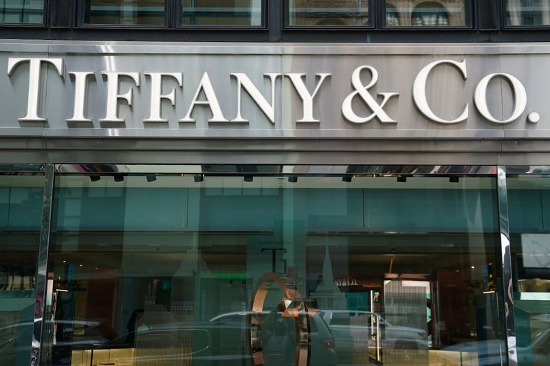 A Tiffany & Co. store is pictured in the Manhattan borough of New York City