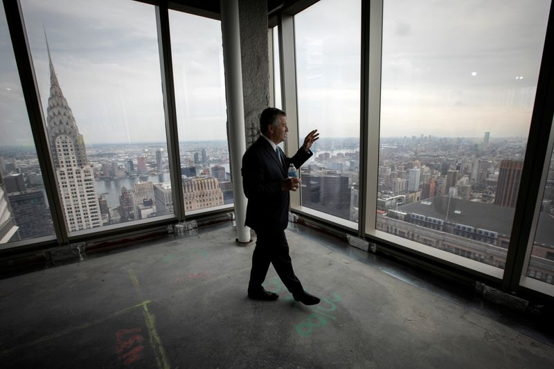 Marc Holliday, Chairman and CEO of SL Green Realty Corp. at One Vanderbilt, the latest skyscraper to grace New York's iconic skyline