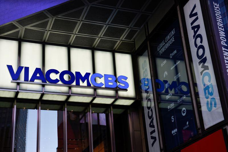 ViacomCBS headquarters in New York, New York