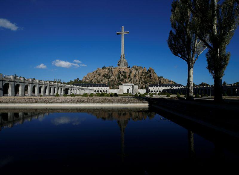 A general view of the Valle de los Caidos (The Valley of the Fallen), a mausoleum in San Lorenzo de El Escorial