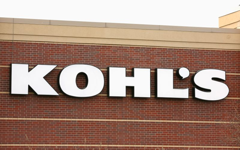 The sign outside a Kohl's store is seen in Broomfield, Colorado