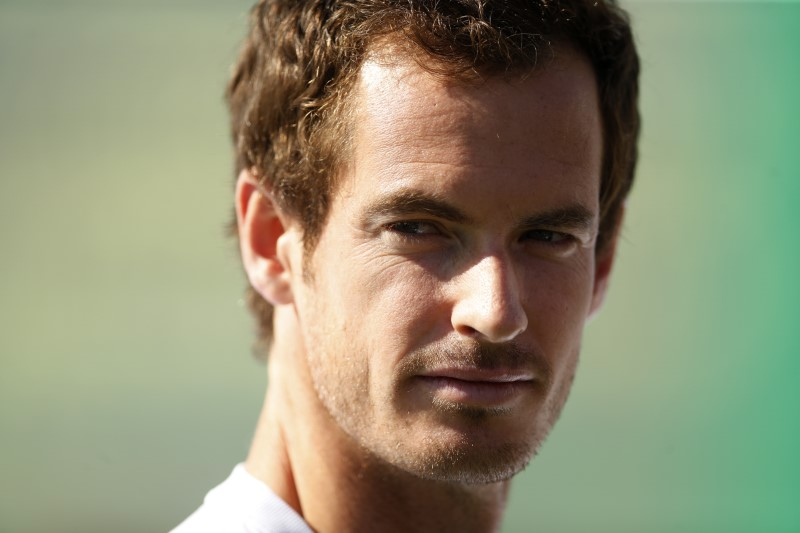 FILE PHOTO: Great Britain's Andy Murray during the launch