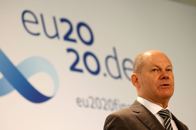 EU finance and economy ministers hold informal meeting in Berlin