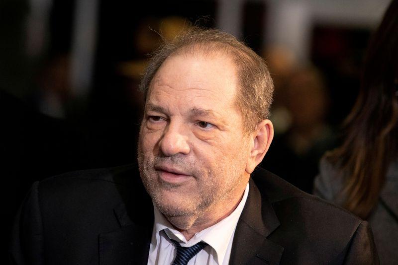 FILE PHOTO - Harvey Weinstein departs New York Criminal Court in New York