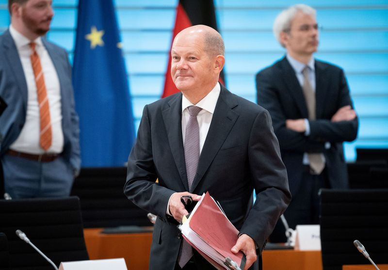 FILE PHOTO: Weekly cabinet meeting in Berlin