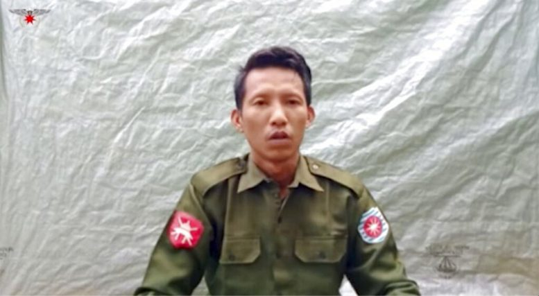 Two deserters from the Myanmar army confess to mass murder