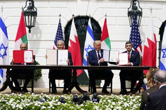 Trump to host Israeli, Arab leaders for historic peace signing