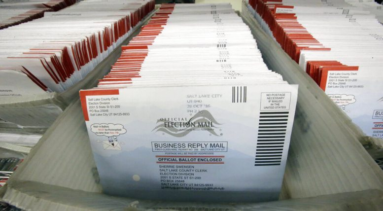 Trump's big distortions on mail-in voting
