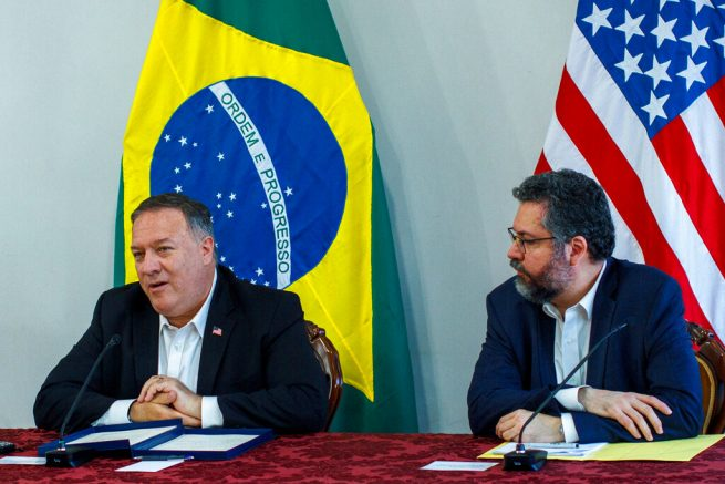 Maduro has to leave, says Pompeo on South America trip