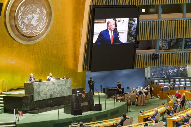 Trump says United Nations must 'hold China accountable' for Covid-19