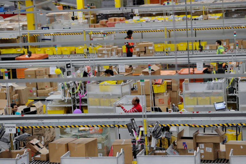 Amazon says almost 20,000 of its workers got Covid-19