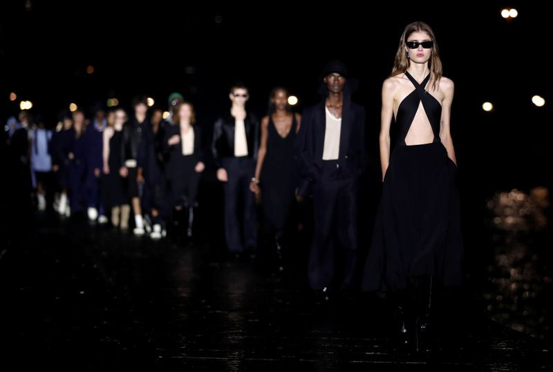 AMI presents Womenswear Spring/Summer 2021 collection during Paris Fashion Week