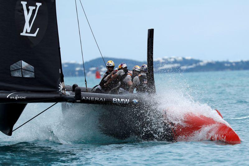 FILE PHOTO: Sailing - America's Cup Finals